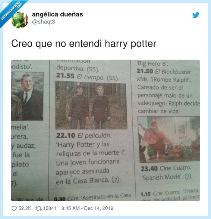 asesinatos,funcionaria,harry,potter