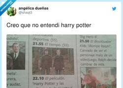 Enlace a Ganazas de ver la película inédita de Harry Potter, por @shaqt3