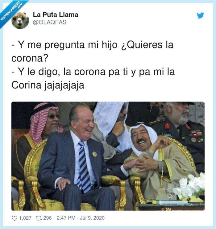 corina,corona,emérito,juan carlos