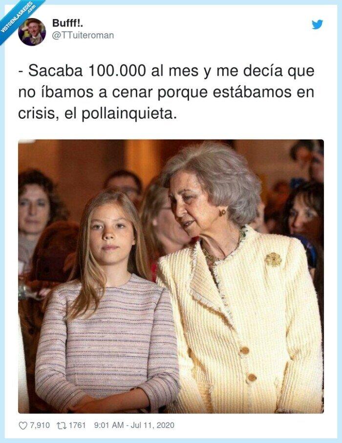 100000,crisis,juanca,reina sofia,rey,sacaba