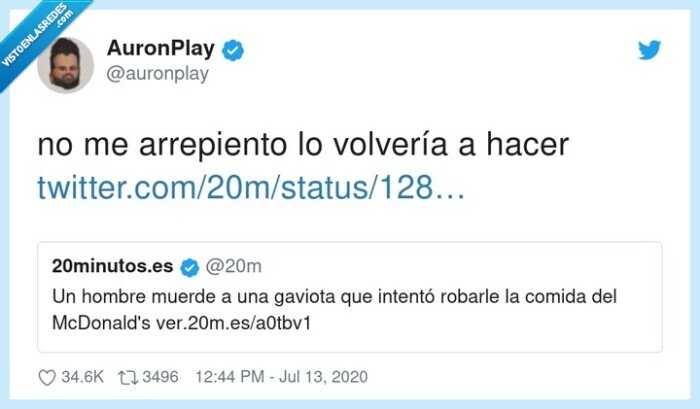 628890 - Con el Happy Meal no se juega, por @auronplay
