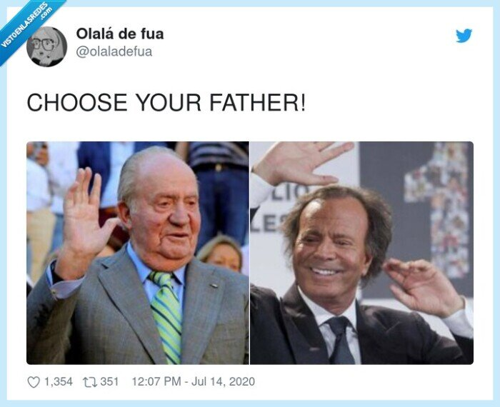 choose your father,juanca,julio iglesias