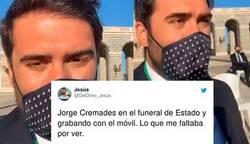 Enlace a Indignación e incredulidad con Jorge Cremades: le invitan al funeral de estado por las víctimas del coronavirus y se pone a grabar stories