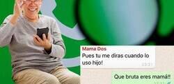 Enlace a Madre aprende a crear grupos de Whatsapp y se estrena por todo lo grande, por @_jorgegallardo_