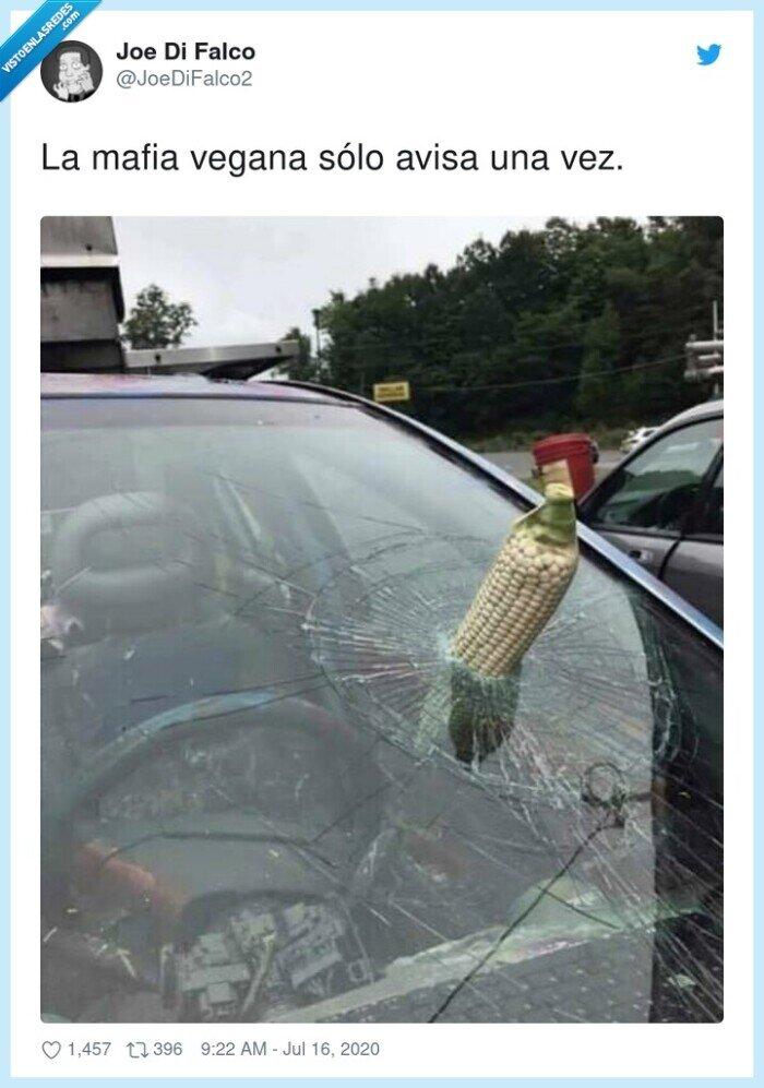 aviso,mafia,vegana