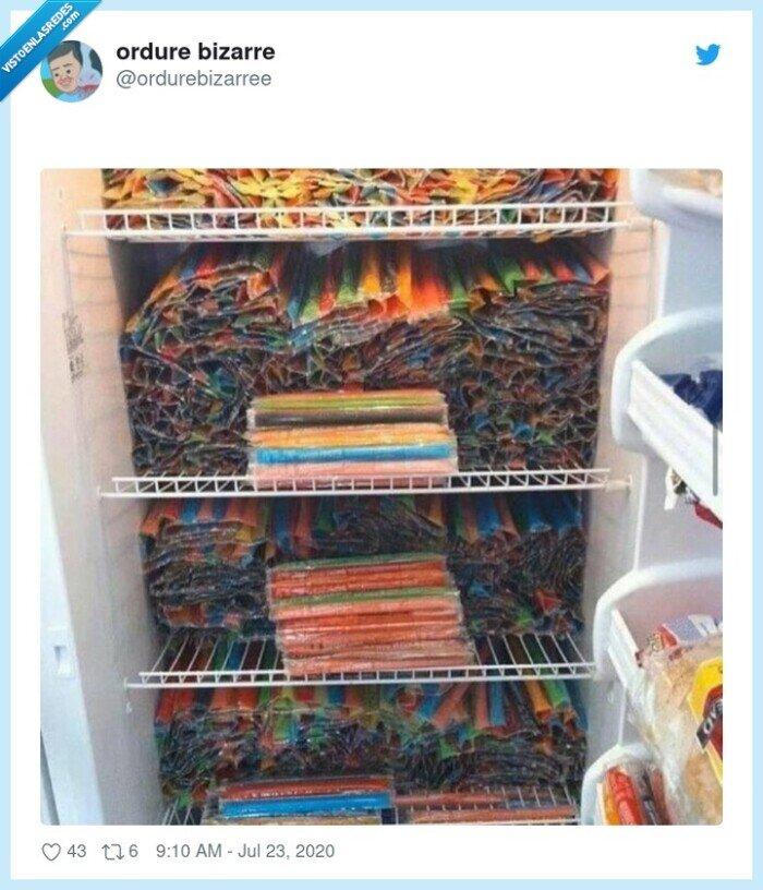 flash,helados,hielo,nevera,niños