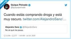 Enlace a Los tweets de Alejandro Sanz siempre pueden tener una segunda lectura, por @quiquepeinado