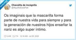 Enlace a Enseñar la nariz, los nudes del futuro, por @AquiNoEstaPatt
