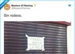 Enlace a Sinceridad en su máximo esplendor, por @MastersOfNaming
