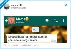 Enlace a Si hay una persona con tacto y que entiende mis problemas, esa es mi madre, por @JuanmaofArcos
