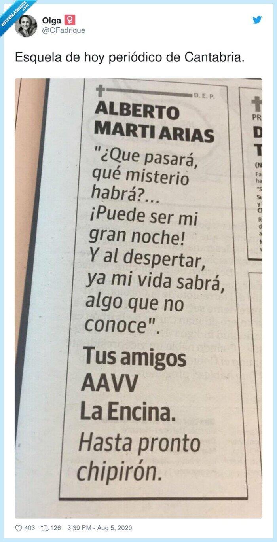 cantabria,esquela,hoy,periódico