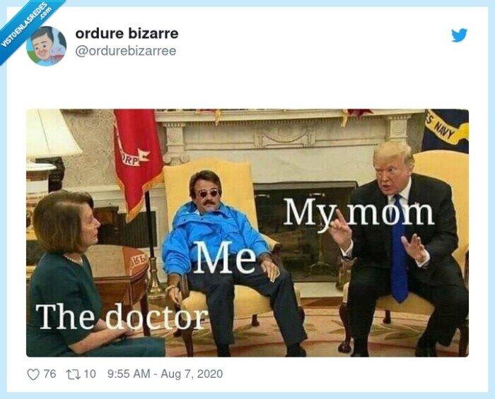 doctor,madre,médico