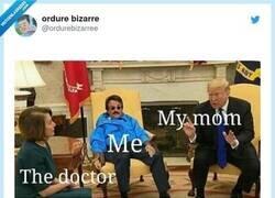 Enlace a Cuando ibas al médico con 8 años, por @ordurebizarree