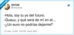Enlace a Creo que ya no quiero saber más, por @catacerca