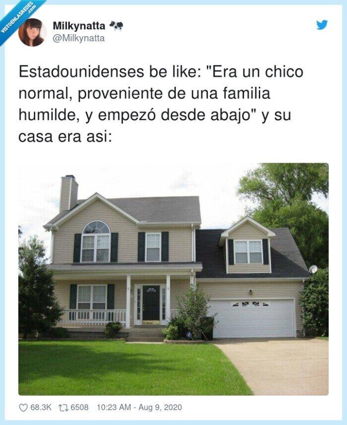 casa,estadounidenses,familia,humilde,normal