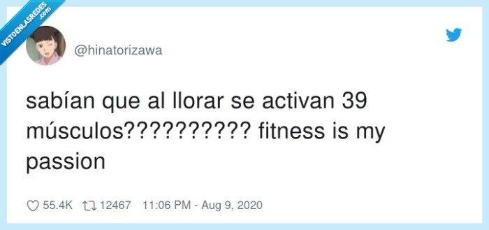 activan,fitness,llorar,músculos,passion