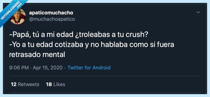 absurdo,crush,humor,padre,trolear,twitter