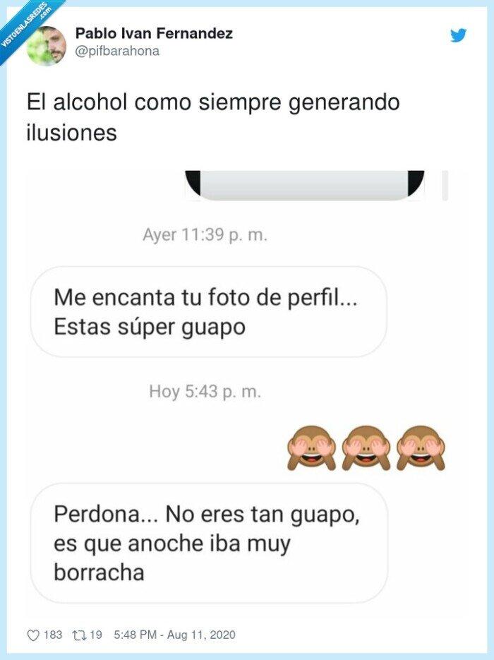 alcohol,conversación,guapo,ilusiones