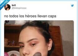 Enlace a A cada situación de la vida le corresponde un tipo de maquillaje, por @biebspinosax