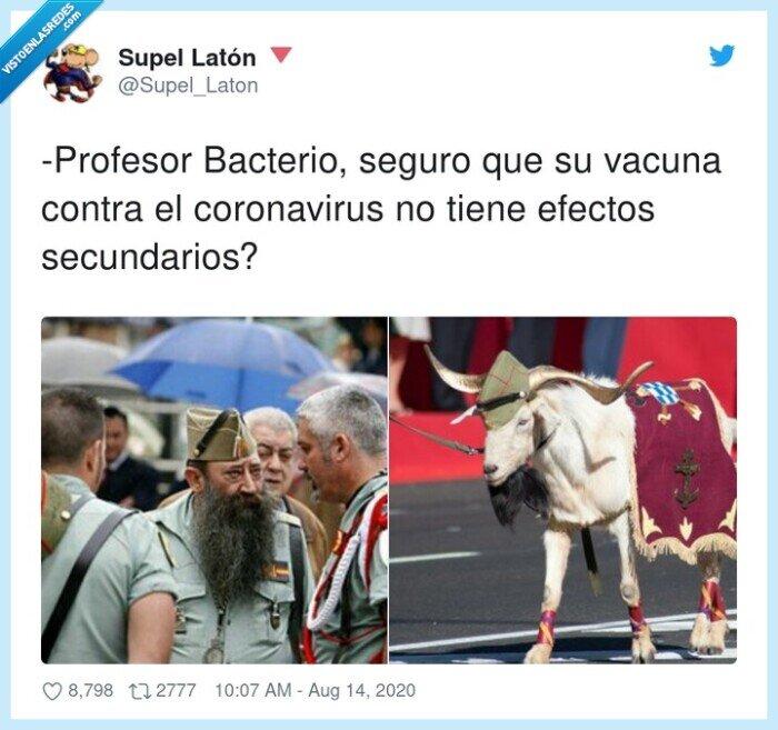 bacterio,coronavirus,efectos,profesor,secundarios