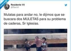 Enlace a Pobre Julio, vaya líos que se hace con las palabras, por @ResiVil