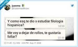 Enlace a Dejémonos de rollos , por @JuanmaofArcos
