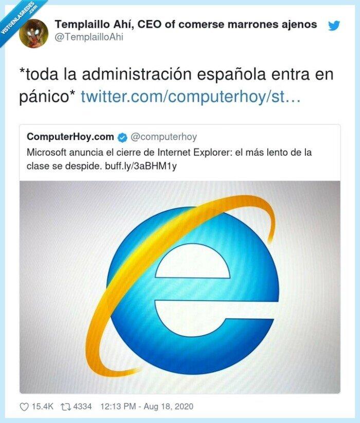 administración,española,explorer,internet