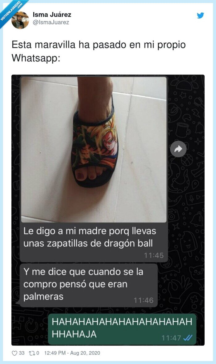 dragonball,maravilla,palmeras,whatsapp,zapatillas