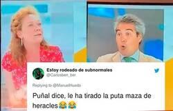 Enlace a El tremendo dardo de una colaboradora de Telecinco a un periodista sobre el cierre de los prostíbulos que ha dejado rotísimo a todo el mundo, por @ManuelHuedo
