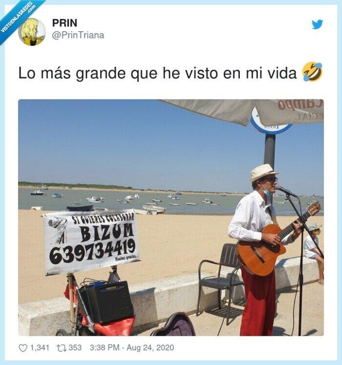 bizum,calle,dinero,guitarra,pedir