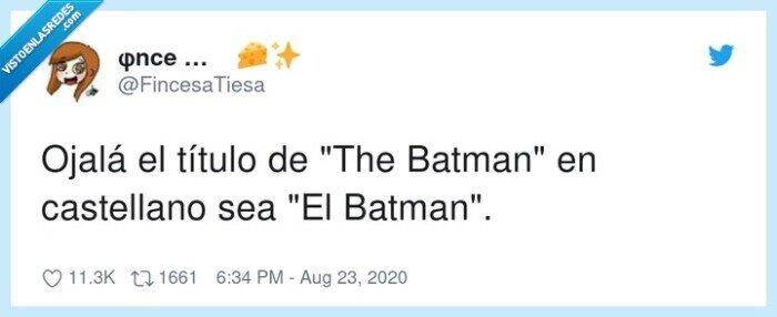 batman,castellano,título