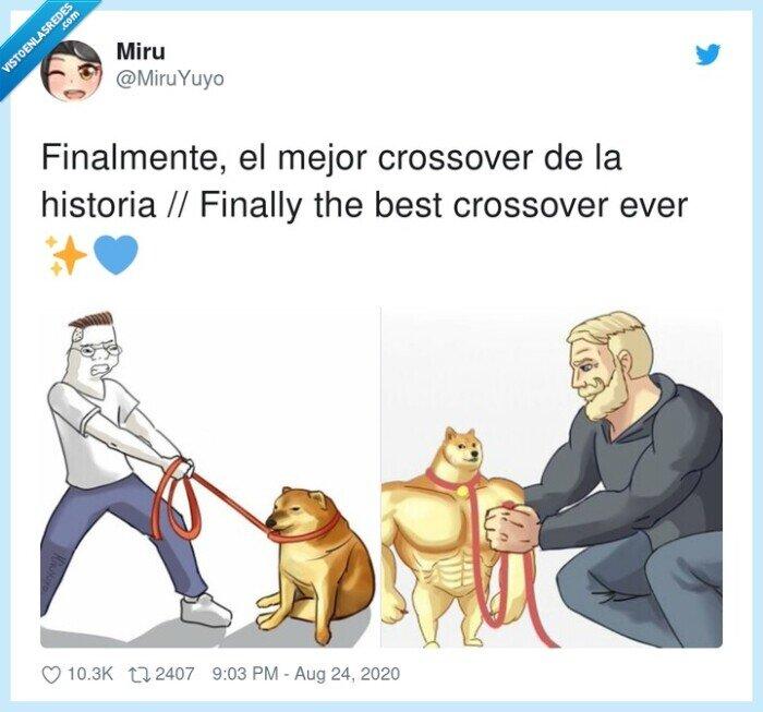 crossover,finalmente,memes,perro