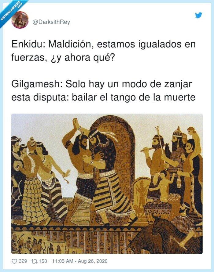 disputa,fuerzas,gilgamesh,igualados,muerte,tango