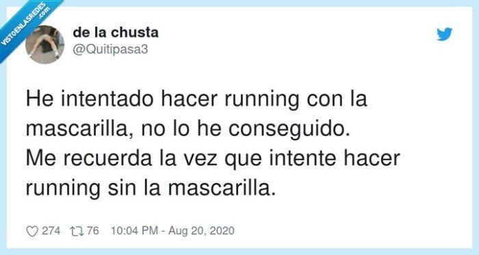 correr,mascarilla,running