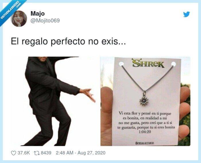 perfecto,regalo,shreck