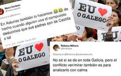 Enlace a Se ríe de cómo usan los tiempos verbales los gallegos y acaba generando un debate lingüístico a nivel nacional
