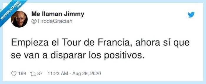disparar,francia,positivos,tour