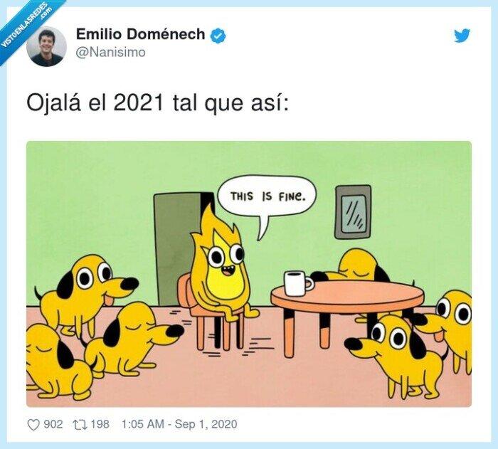 2021,fuego,meme,ojalá,perros