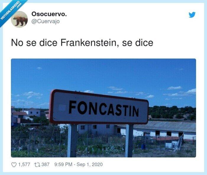 dice,foncastin,frankenstein,pronunciar