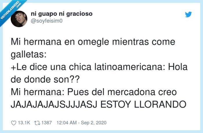 galletas,hermana,latinoamericana,llorando,mercadona
