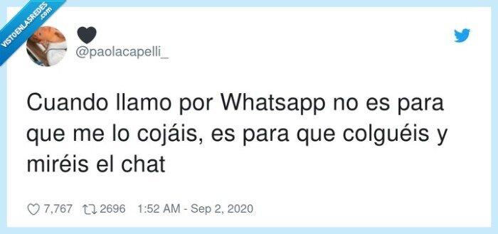 chat,llamada,mirar,whatsapp