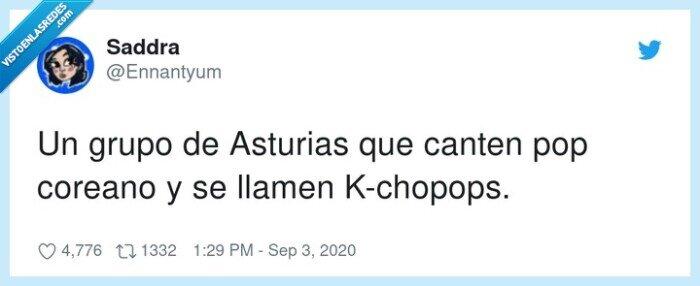 asturias,canten,coreano,grupo,kchopops,llamen