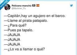Enlace a El pirata patapalo, por @Mortimer_Fu