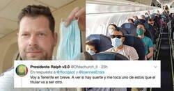 Enlace a El truco de un británico para no ponerse mascarilla en un avión que demuestra lo mezquina que es la gente