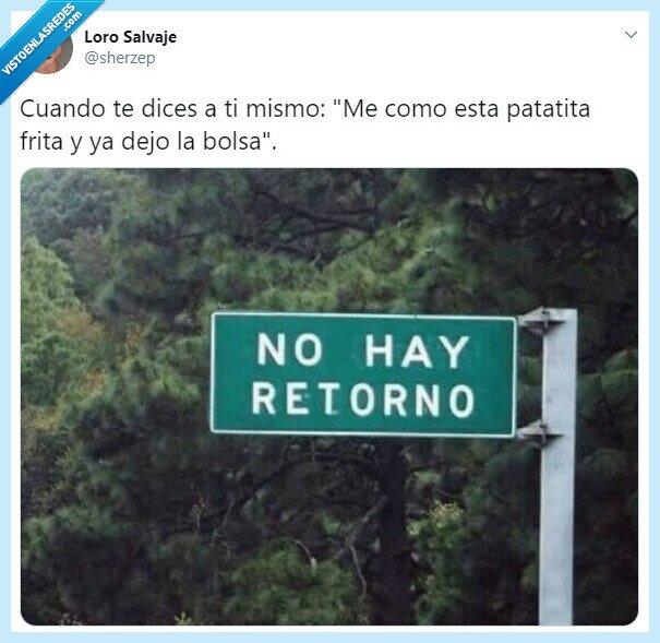 loro salvaje,no hay retorno,patatas fritas,señal,sherzep,twitter