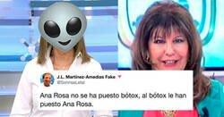 Enlace a Ana Rosa Quintana vuelve de vacaciones un poquito pasada de botox, parece que ha acabado con todas las reservas