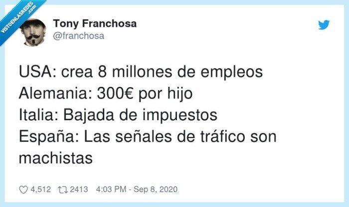 alemania,impuestos,machistas,millones,señales,tráfico
