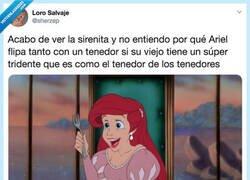 Enlace a Ariel, no te hagas la tonta, por @sherzep