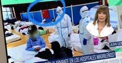 Enlace a Ana Rosa Quintana intenta sembrar el pánico con imágenes de Hospitales saturados en