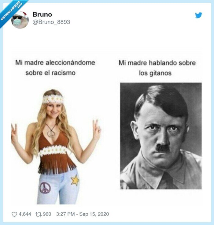 doble vara,madre,racista